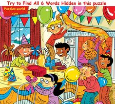 Find Six Hidden words in the Picture above and mention them in comments. This is the most difficult picture puzzles in the set of puzzles. Share the Picture with your family and friends and see if they can find all the six hidden words in the picture. Hidden Words In Pictures, Hidden Picture Puzzles, Word Pictures, Spot The Difference Kids, Picture Comprehension, Picture Composition, Six Words, English Activities, Writing Activities