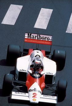 Alain Prost  McLaren - TAG Porsche 1985                                                                                                                                                                                 More