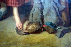 Théaulon Etienne (1735-1780) Le retour au village, ou la Mère sévère 1777 huile sur toile Don du comte de Riencourt 1865 Abbeville, musée Boucher de Perthes