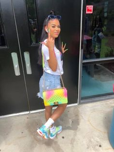 cute outfits with flame vans Baddie Outfits For School, Swag Outfits For Girls, Boujee Outfits, Cute Swag Outfits, Teenage Outfits, Teen Fashion Outfits, Girly Outfits, Dope Outfits, Dressy Outfits