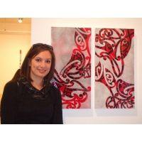 Katharine Ngatai Homework, Figurative, Perspective, Pie, Tapestry, Culture, Book, Creative, Artist