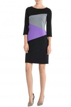 DIAGONAL BLOCK DRESS - pre-fall 2013 -Lisa Perry