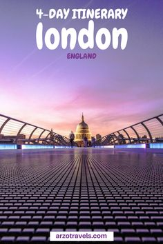 Planning a trip to fun London but wondering what to do as a first-time visitor? Here are my top tips for a trip to London - a great 4-day itinerary for London, United Kingdom. Where to go in four days in London I What to do n London