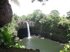 Boiling Pots, Rainbow falls, pe'epe'e falls (5 spouted waterfalls)