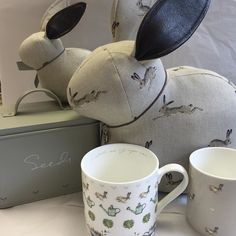 It's all gone a bit 'Mr McGregor's  Garden'! #sophieallport #hare #bunnies #garden by fezziwigs_tynemouth