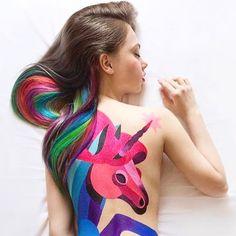 Marque alguém nos comentários q precisa ver essa foto 😱👇🏼 #unicorn #unicornio #linda #arte