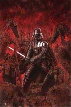 Darth Vader by Adi Granov.