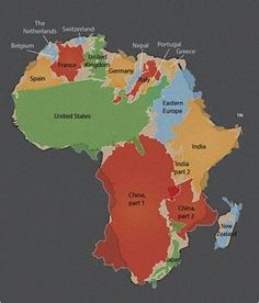 Africa contains the world