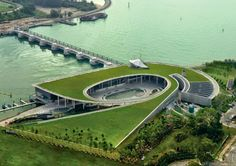 Marina Barrage by Architects Team 3