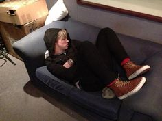 Sleepy Ashton :) if u don't repin I'm judging u<<< CANT JUDGE THIS! *breaks out dancing to parody of 'can't touch this' *