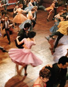 People dancing in a production of West Side Story. By Ernst Haas.