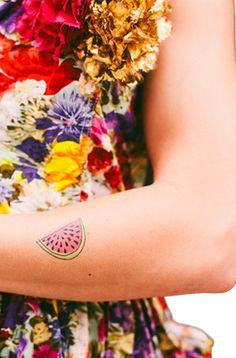 Tattly Watermelon Tattoo