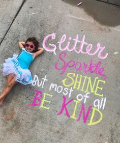 Our Chalk World, sidewalk art, chalk art, Lucy's Chalk World, kids crafts, creative kids, sidewalk chalk #lucyschalkworld