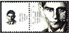 Literary Stamps: Kafka, Franz (1883 – 1924)