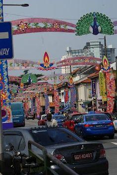 Little India, Singapore - Diwali Time