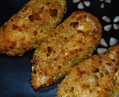 Carrie's Experimental Kitchen: Pistachio Breaded Baked Chicken