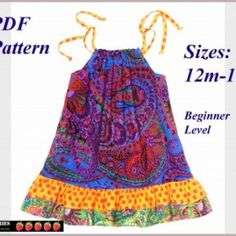 This one is for all the ladies having baby girls! Not me! Pillow Case Dress Patterns for lily Mae