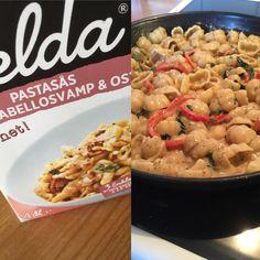 Har buzzat #kelda pastasås, hade i lite spenat och paprika #keldapastasåsbuzz #buzzador