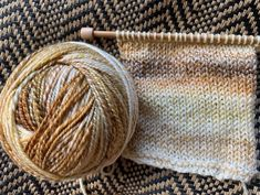 Just Bought New Hand-spun Yarn – New England's Narrow Road  #handspunyarn #selfstripingyarn #sockyarn