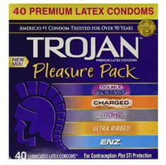 Trojan Pleasure Pack NEW MIX Premium Lubricated Latex Condoms Tornados, Best Safes, Circulation Sanguine, Thing 1 Thing 2, Latex, Health Care, Health And Beauty, Ebay, 10 Count