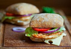 Fotografía Chicken sandwich por Mirage Gourmand en 500px