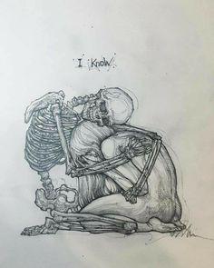Sad Drawings, Dark Art Drawings, Pencil Art Drawings, Art Drawings Sketches, Tattoo Drawings, Drawing Drawing, Deep Drawing, Life Drawing, Drawing Ideas