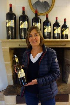 Chateau LaTour-Martillac Winemaker Valerie Vialard #french #wineries #womeninwine #Bordeaux #wines #winemaker