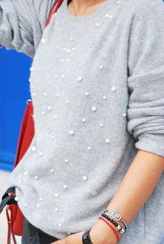 FASHIONCORNER by Y.C: Pearls in my jersey