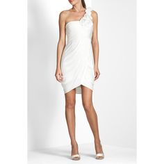 I'd wear this white BCBG dress to a nice date with my husband on a summer night :)