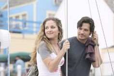 Amanda and Jack...#Still of Nick Wechsler and Margarita Levieva in Revenge