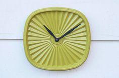 Tupperware Clock :)