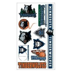 Minnesota Timberwolves Tattoos by WinCraft. $2.25. In Stock. Temporary Tattoo. Chrome. 4x7. Official licensed Minnesota Timberwolves tattoos. Each tattoo sheet comes with a collection of different temporary tattoos. Tattoos come with easy to apply/remove instructions. Size is approximate. Proudly made in the USA. Basketball, pro-series, sport, boys, girls, birthday parties, goodie bags.. Save 50%!