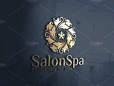 Salon Spa | Logo Template by REDVY on @creativemarket
