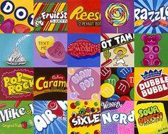 22 Super Ideas For Pop Art Easy Paintings 8th Grade Art, Eighth Grade, Candy Art, School Art Projects, Middle School Art, Art Lesson Plans, Art Classroom, Art Plastique, Elementary Art