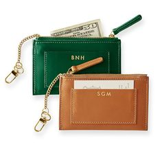 Westbury Zip Card Case | Mark and Graham