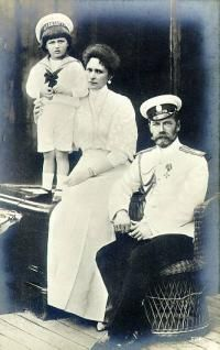 Nikolaus II. and Alexandra