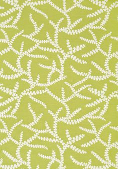 Regina #fabric in #pear from the Resort collection. #Thibaut