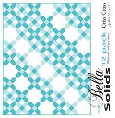 Criss Cross - Moda 12 Pack Fat Quarter Free Pattern