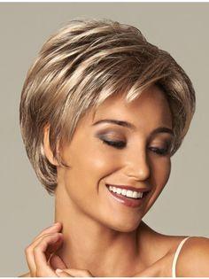 Blonde Wavy Short Sassy Synthetic Wigs