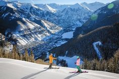 """The Chicago Tribune says Telluride mountain """"boasts more than its share of expert terrain...while offering an abundance of intermediate and beginner runs as well."""" http://www.chicagotribune.com/lifestyles/travel/sc-telluride-ski-resort-travel-1108-20161028-story.html"""