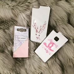 Stuff for girls! #etui #obudowa #case #chanel #deer #chichappens #marble #girls #akcesoria #telefon #różowy #pink