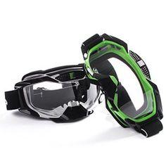 Fodsport Mototourisme Lunettes Homme / Femmes Motocross Lunettes Casques Lunettes Sport Gafas pour moto Lunettes de Protection de Visage…