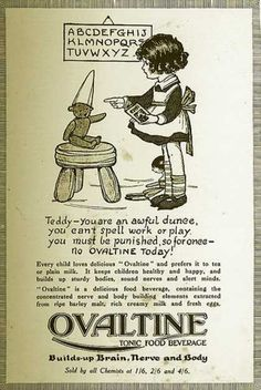 Vintage Kids and Babies Ads of Miscellaneous Years