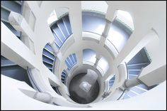 und wieder- treppe- rund by d.teil, via Flickr