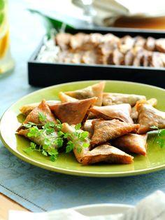 パリパリとした春巻きの皮とスパイシーな合い挽き肉が止まらないおいしさ 『ELLE a table』はおしゃれで簡単なレシピが満載!