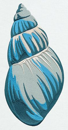 Salt Water - Seashell | Urban Threads: Unique and Awesome Embroidery Designs