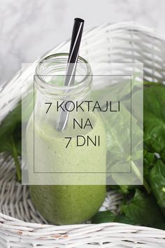 Jak zrobić idealny koktajl. 7 koktajli na 7 dni tygodnia. - FitSweet Energy Smoothies, Smoothie Drinks, Weight Loss Smoothies, Fruit Smoothies, Healthy Smoothies, Smoothie Recipes, Raw Food Recipes, Healthy Recipes, Healthy Food