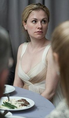 loved the rehearsal dinner dress worn by Anna Pacquin in The Romantics AND the wedding dress!
