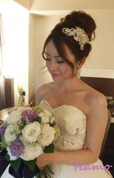 お洒落で可愛い花嫁さまの素敵な一日♡