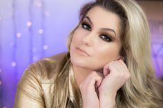 Oi meu bem!!! Hoje tem vídeo de maquiagem lá no Blog com mais um da Série Color: TODA DOURADA! Passa lá no Blog: http://ift.tt/K6CATG e já comenta aqui para a próxima cor.  #alicesalazar #blog #instablog #instamake #instavideo #makeup #maquiagem #maquillaje